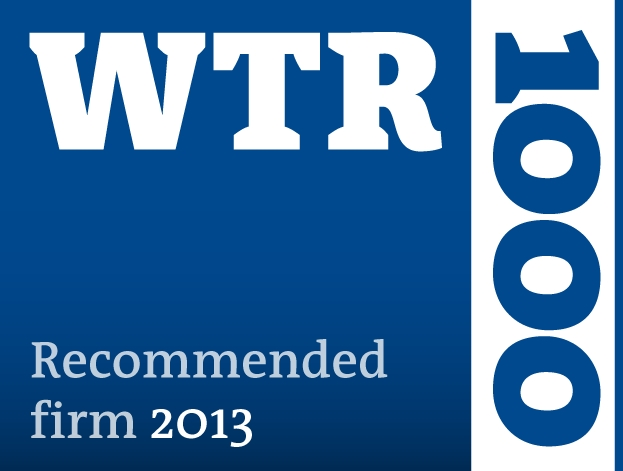 WTR 1000 Recommended firm 2013