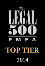 The Legal 500 EMEA - Top Tier Firm - Logo